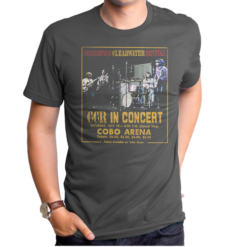 Creedence Clearwater Revival Concert T-Shirt