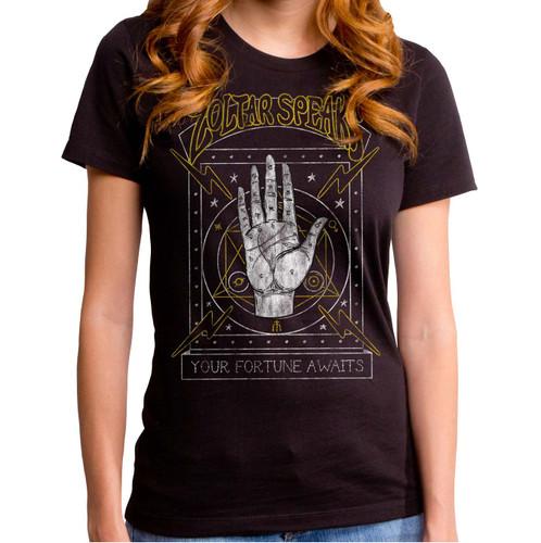 Zoltar Speaks-Your Fortune Awaits Girls T-Shirt