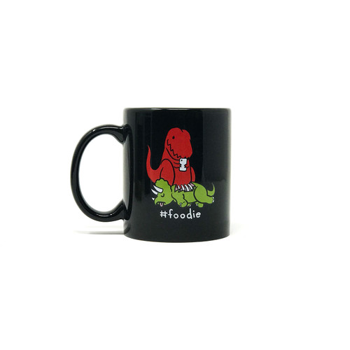Foodie Dinosaur Coffee Mug