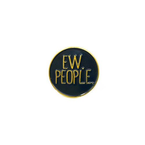 Ew People Lapel Pin
