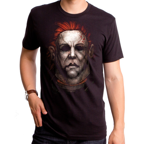 Halloween Michael Myers Painting T-Shirt
