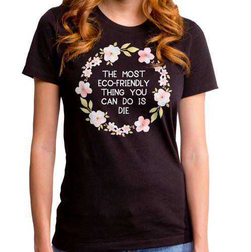 Eco Friendly Girls T-Shirt