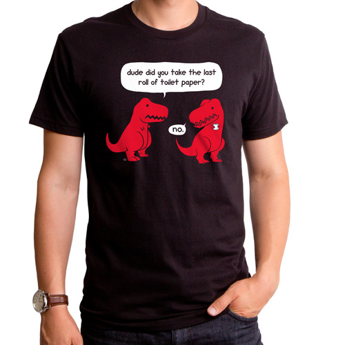 The Last Roll Dino T-Shirt