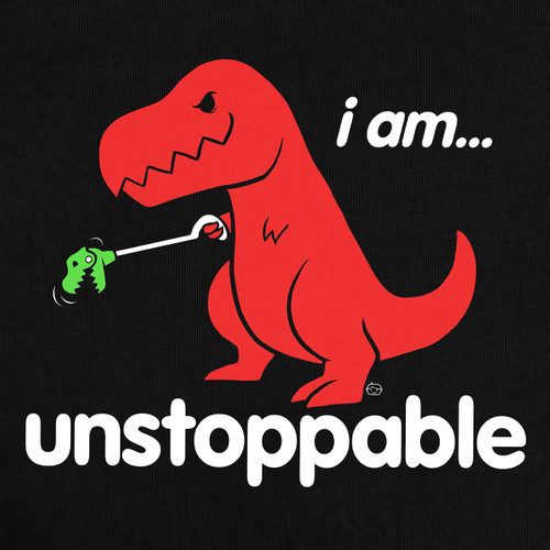 Unstoppable Dino T-Shirt