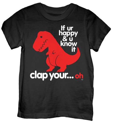 Sad T Rex Dino Toddler T-Shirt