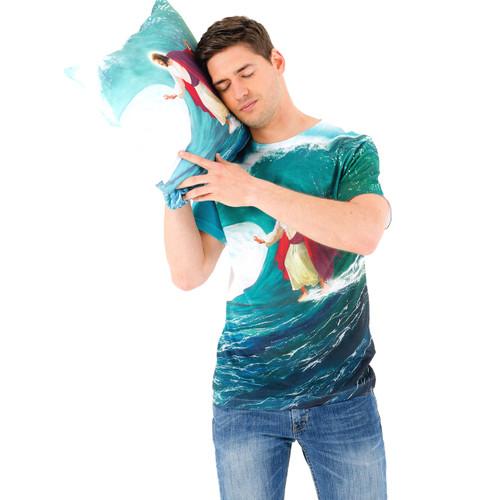 Surfs Up Jesus Sublimated T-Shirt