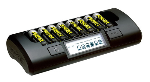 Maha PowerEx MH-C801D Battery Charger, AA/AAA Smart Charger