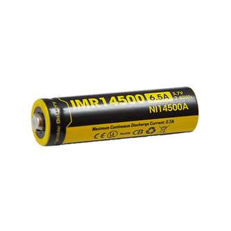 NITECORE IMR14500 Battery for EA11, MT10A