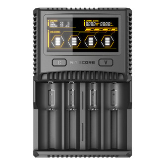 NITECORE SC4 Superb Charger 4-slot Battery Charger