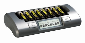 PowerEx MH-C800S NiMH AA Battery Charger