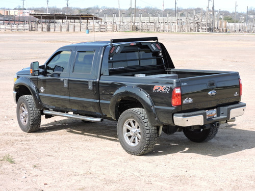 08 ford f250 to f550, aluminum headache rack, 1 800 773 3047 Combo Tool Box Headache Rack aluminum headache rack in gloss black powdercoat installed on 2015 ford f250
