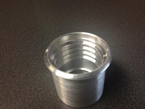 Aluminum fuel fill neck
