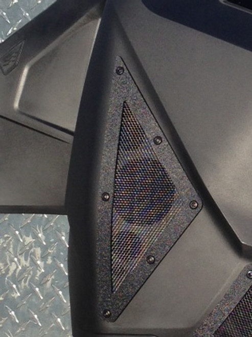 Ski-doo XM Rear side panel vent