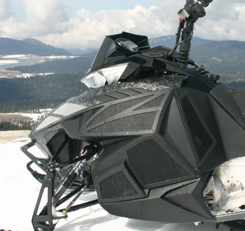 Yamaha SR Viper Upper Side Vents