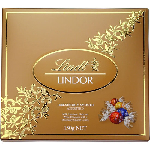 Lindt 150g Chocolates This small bag of mixed irresistibly smooth lindt chocolates a great add on to any gift.