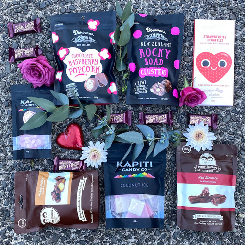Assortment of Gourmet NZ products.