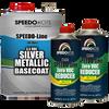 Silver Metallic 3.5 voc Base Coat Kit, Basecoat & Reducer, SMR-9600LV/0075