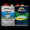 Nardo Grey Base Coat Kit, 2 Gallon Kit, Basecoat & Medium Reducer, SMR-9400LV/0075
