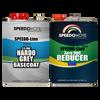Nardo Grey Base Coat Kit, 2 Gallon Kit, Basecoat & Slow Reducer, SMR-9400LV/0085