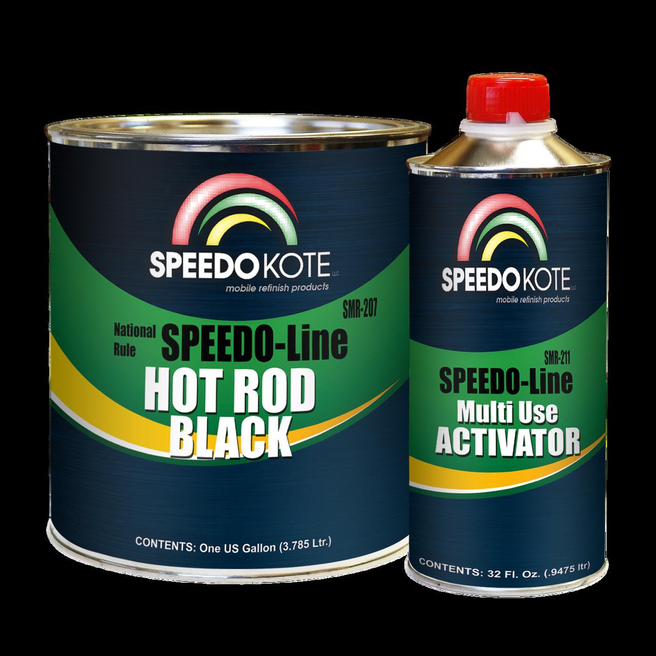 SMR-207/211  Speedo-Line Hot Rod Black