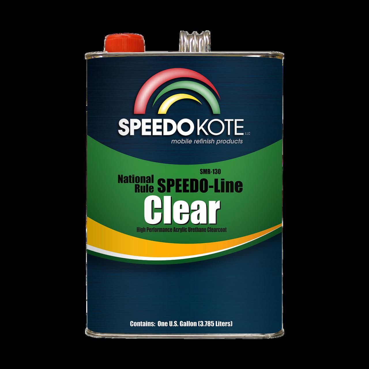 SMR-130-1 Automotive Clear Coat Fast Dry 2K Urethane
