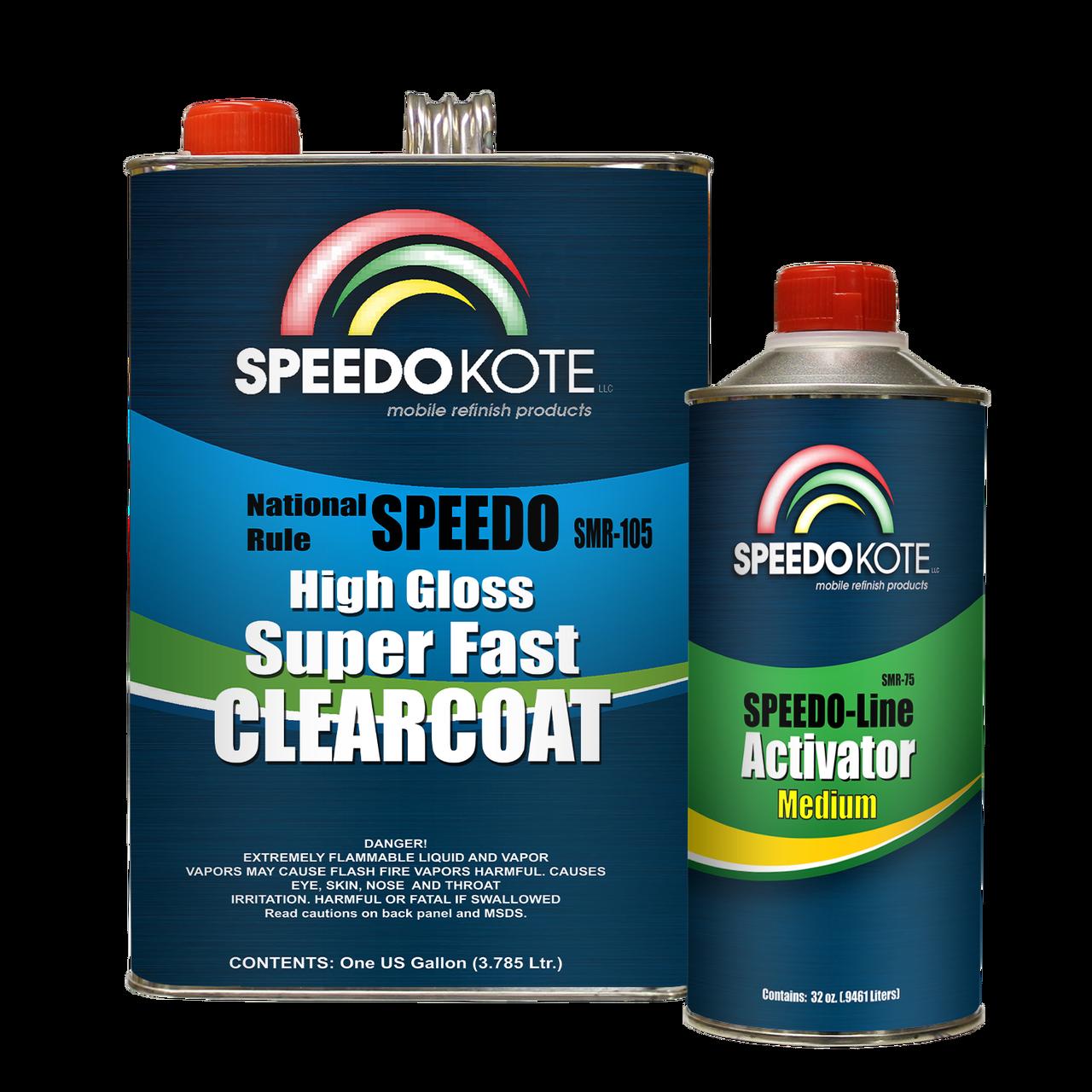 SMR-105/75 Mobile Refinish Clear Coat Kit