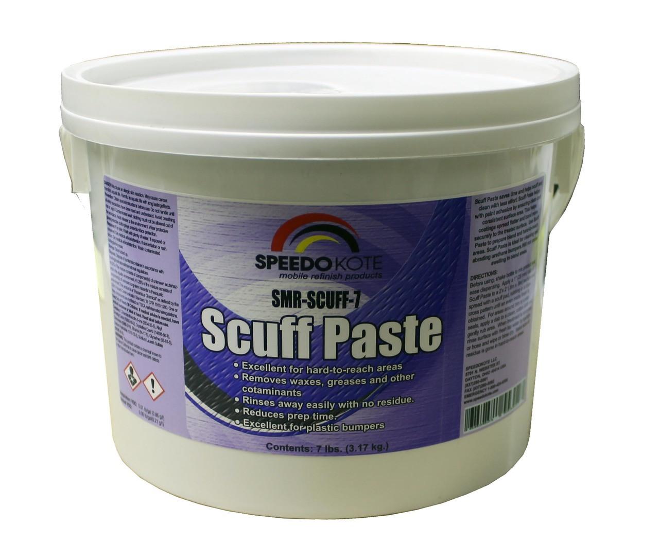 Scuff Paste Paint Prep. Abrasive & Cleaner, SMR-SCUFF-7