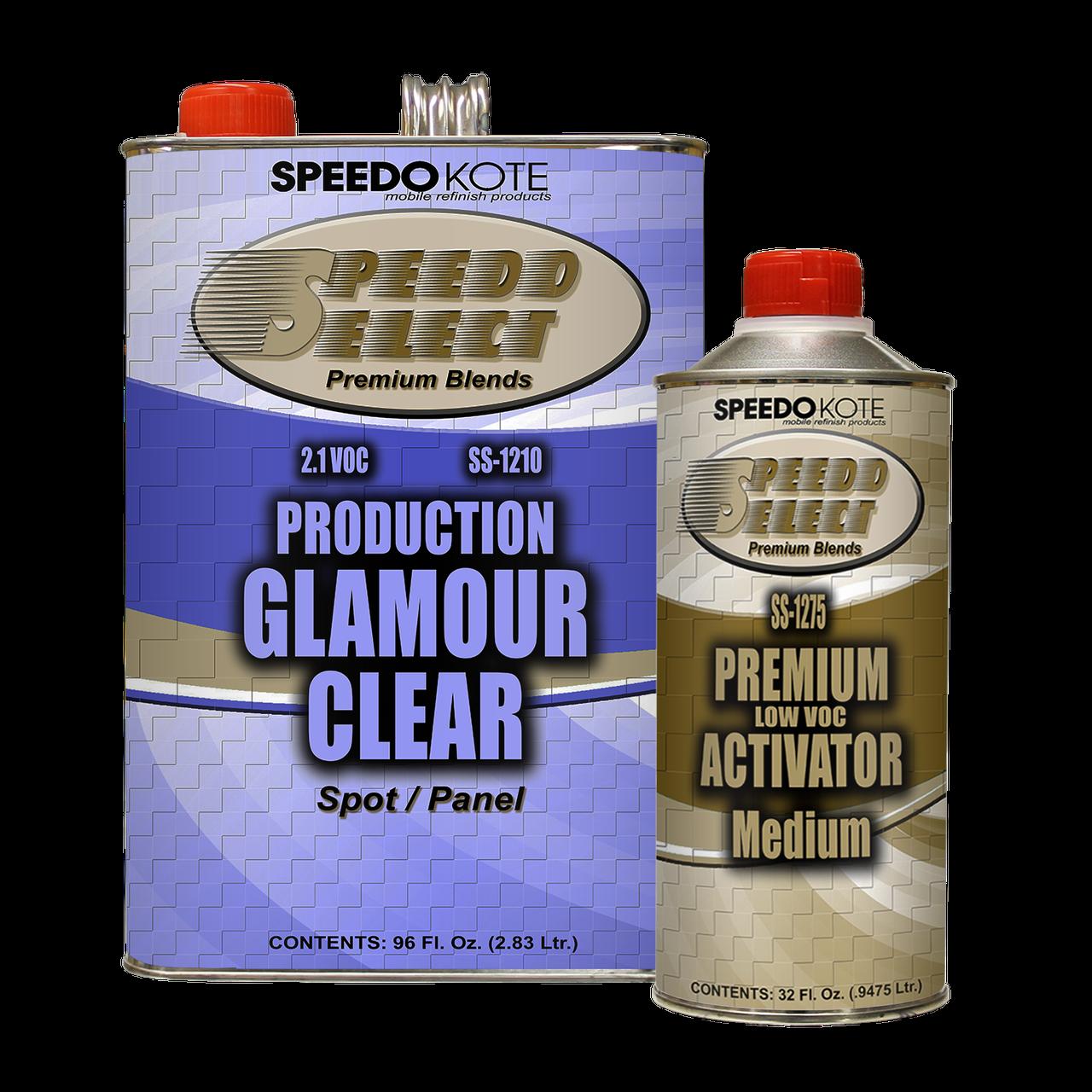 Production Clear Coat , Gallon Kit SS-1210/1275
