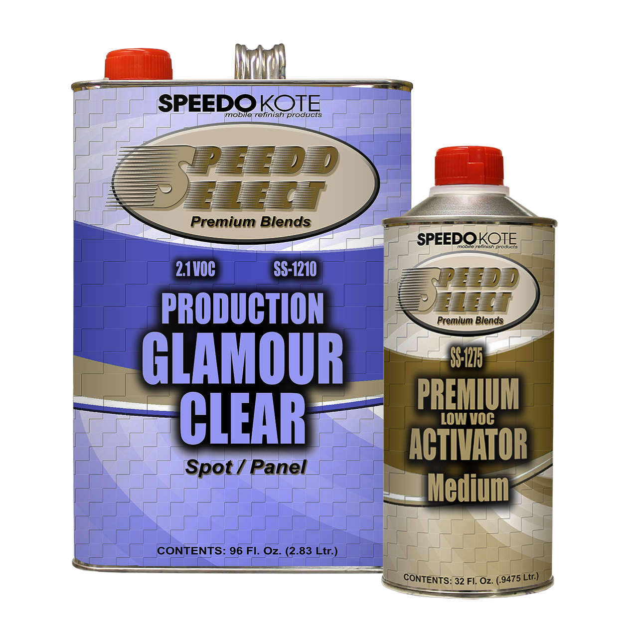 Production Clear Coat , Gallon Kit SS-1210/1275