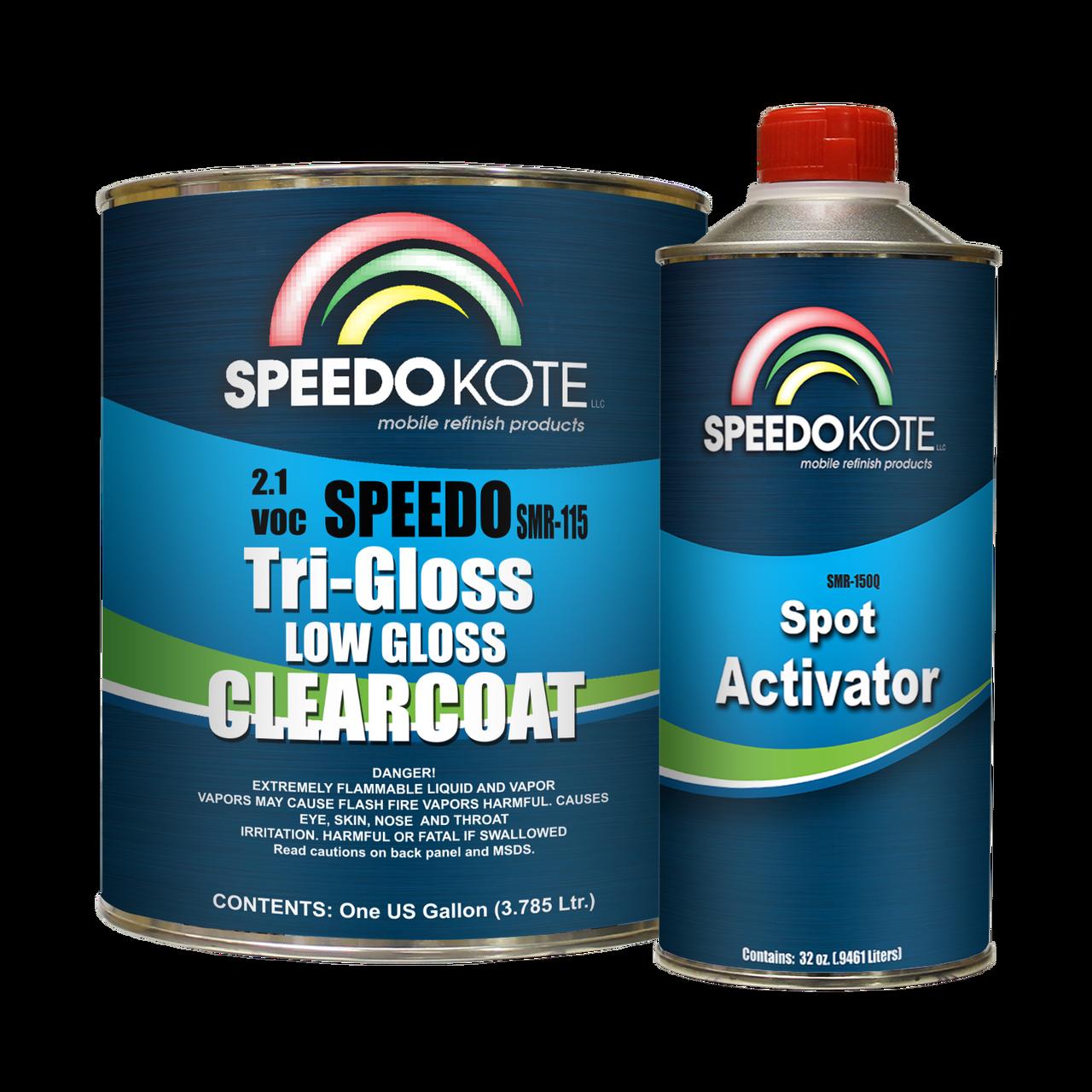 SMR-115/170 Low Gloss 2.1 VOC clear coat Slow Activator