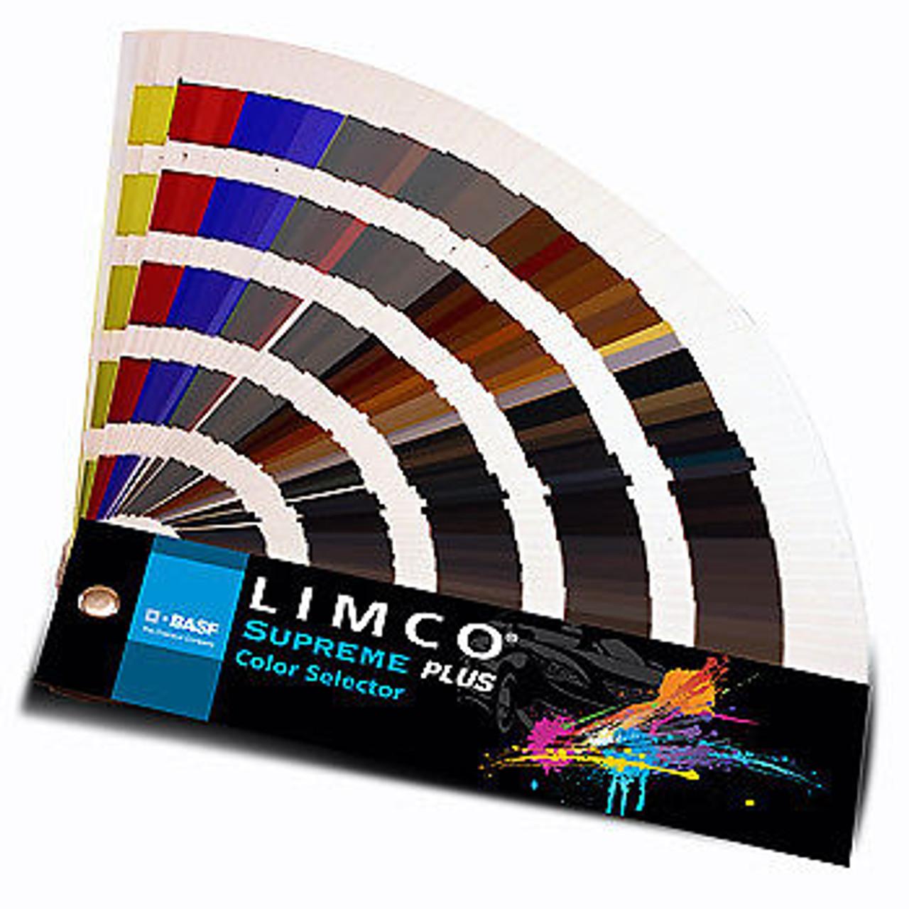 BASF Limco Supreme Plus 700+ Color Selector Fan Deck