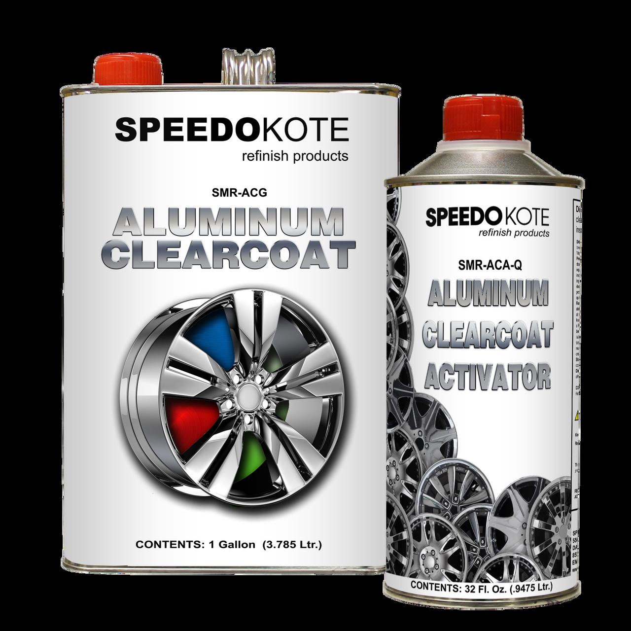 Direct to Aluminum Clear Coat 2K Urethane, SMR-ACG/ACA 4:1 Clearcoat Gallon Kit