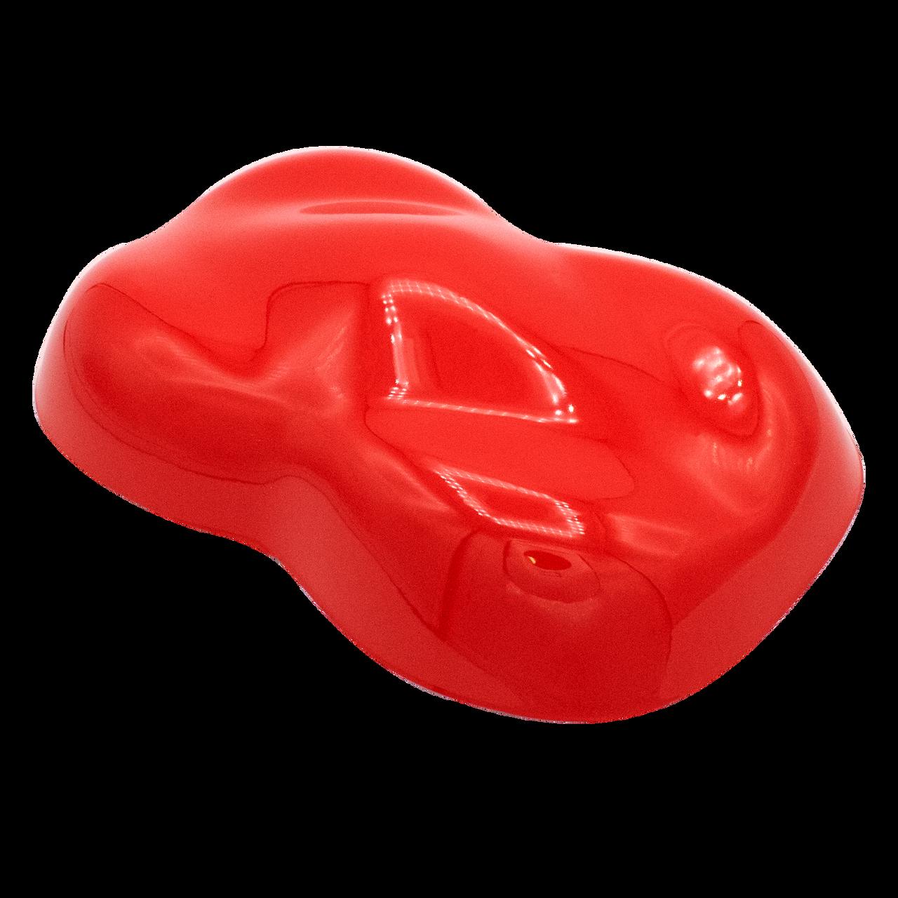 High Gloss Race Red 2K Acrylic Urethane, 4:1 Gallon Mid Temp Kit, SPK9714/SPK75 2.8 VOC Race Red Single Stage Paint, Use in 70 - 80 F