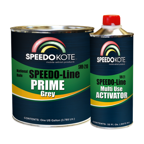 SMR-210/211  Speedo Line Primer Gray Gallon