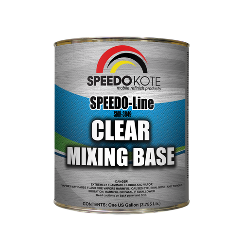 Clear Mixing Base, One Gallon SMR-3649