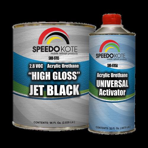 SMR-9705 High Gloss Jet Black 2K Acrylic Urethane