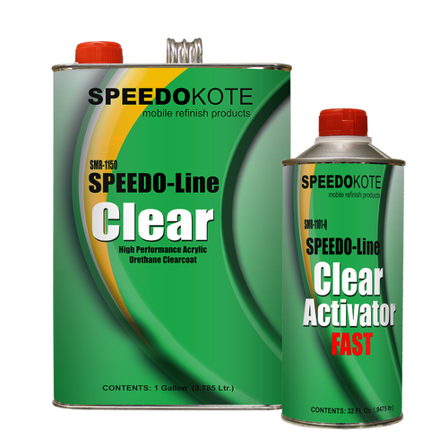 Clear Coat Acrylic Urethane, SMR-1150/1101-Q 4:1 Kit