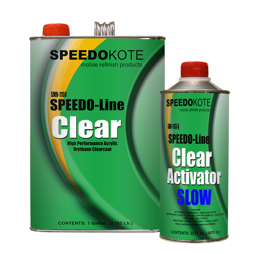 Clear Coat Acrylic Urethane, SMR-1150/1103-Q,  4:1 Kit