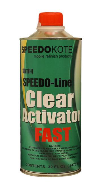 SMR-1101-Q clearcoat Activator Quart Fast Speed