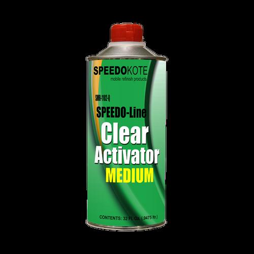 SMR-1102-Q clearcoat Activator Quart Medium Speed