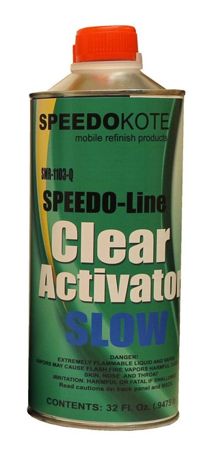 SMR-1103-Q clearcoat Activator Quart Slow Speed