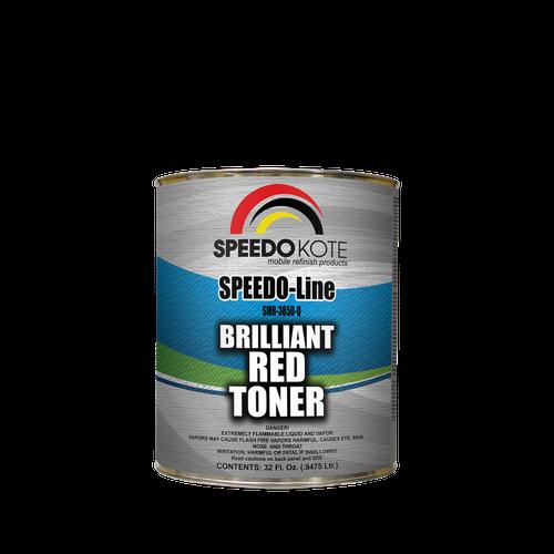BRILLIANT RED Toner for base coat formulas, quart SMR-3850-Q