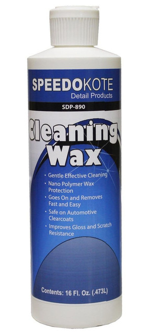 SDP-890 Automotive Cleaning Wax, 16 oz.