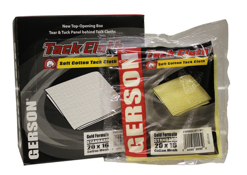 SMR-920 GERSON  Gold Formula Soft Cotton Tack Cloth