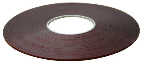 Double sided Low Profile molding tape 1/8 inch x 1/32 inch x 108 feet SMT-41