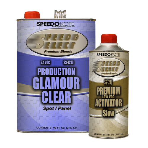 Production Glamour Clear Coat , Gallon Kit SS-1210/1290