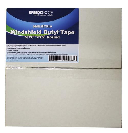 "Windshield Butyl Tape, doors, headlights, Sealant, 5/16"" x 15' roll, SMR-BT516"