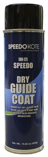 Black Guide Coat reveals low spots & imperfections in body work - 15 oz. Aerosol