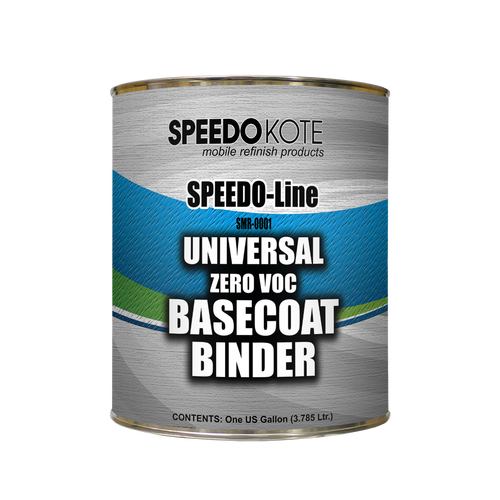 Universal Basecoat Binder for automotive base coats, 0 VOC, One Gallon SMR-0001