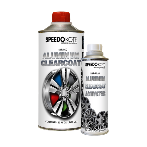 Direct to Aluminum Clear Coat 2K Urethane, SMR-ACQ/ACA-8 4:1 Clearcoat Quart Kit